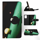 SNOOKER POOL TABLE BALLS 2 FLIP WALLET CASE FOR SAMSUNG GALAXY S7 S8 S9 $10.42 USD on eBay