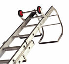 Lyte Aluminium Trade Double / 2 Section Roof Ladders 4.64m - 7.67m Open Height