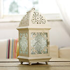 Moroccan Style Iron Craft Candlestick Retro Candle Holders Festival Ornament