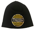 Triumph beanie motorbike motorcycle Embroidered Patch $12.02 USD on eBay