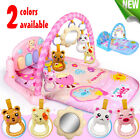 3 in 1 Baby Musical Gym Play Mat Lay Play Fitness Piano Blanket Toy + Control