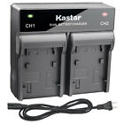 Kastar Battery Dual Rapid Charger for Canon LP-E17 LC-E17 Canon Rebel SL2 Camera