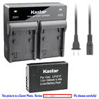 Kastar Battery Dual Rapid Charger for Canon LP-E17 LC-E17 Canon EOS 8000D Camera