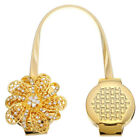 Crystal Magnetic Retractable Curtain Decoration Clip On Flower Holder Tie Back
