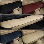 Universal Car Back Rear Seat Pad Mat Cover PU Leather Auto Chair Cushion Black