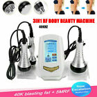 3in1 Ultrasound Slimming Fat Cavitation Face Skin Beauty Device Massage Spa Care