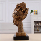 13 inches Arts statue Abstract human face sculpture Keep