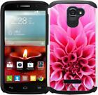 Alcatel One Touch Fierce 2 7040T Pop Icon Case Slim Hybrid Armor Phone Cover