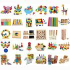 Montessori Wooden Toys Baby Kids Intellectual Developmental Early Learning Aids