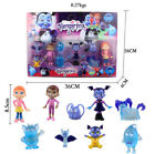 2018 Vampirina Fantastic Friends Set Junior 9Pcs Action Figures Ghoul Glow Toys