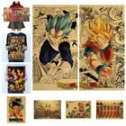 Classic Large Collection Cartoon Kraft Retro Poster Wall Decorative Painting