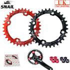 SNAIL 104BCD 32-42T MTB Bike Chainring + Bolts Round Oval Narrow Wide Chain Ring