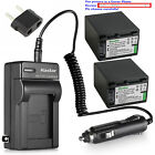 Kastar Battery AC Charger for Sony NP-FV100 Sony HDR-CX33...