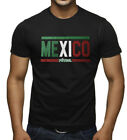 Men's Mexico Futbol Black T Shirt Soccer Team Mexican Pride World Cup 2018 Copa