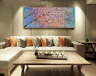 Hand Painted Abstract Canvas Oil Painting Flower  Cherry Blossom 776