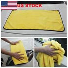 Car Wash Microfiber Towel Auto Cleaning Drying Cloth Hemming Super Absorbent JM