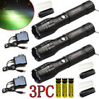 Kyпить Tactical Police 90000 Lumens T6 LED Rechargeable 18650 Flashlight Zoomable Torch на еВаy.соm