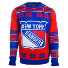 NHL Brand Youth Kids NHL NEW YORK RANGERS Ugly Sweater $29.99 USD on eBay