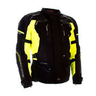 Richa Infinity 2 Waterproof Texile All Weather Motorcycle Jacket Black/Fluo