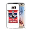 Washington Capitals Samsung Galaxy S4 5 6 7 8 9 10 E Edge Note 3 -10 Plus Case 6 $16.95 USD on eBay