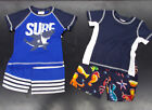 Внешний вид - Infant Boys Sweet & Soft Sizes 12, 18 & 24Mth. $65 Swim Shirt W/T Shorts 2PC Set