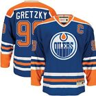 Edmonton Oilers Original Wayne Gretzky Jersey CCM Hockey Hero Royal Blue