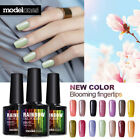 Modelones Soak Off UV Gel Polish Black White Glitter Nail Ar