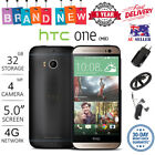 New Factory Unlocked Htc One M8 Black Gold Silver Blue 16gb 32gb Android Phone