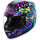 Icon Airmada Full Face Motorcycle Helmet DOT Sizes and Graphics FREE Shipping
