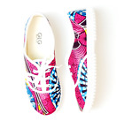 Luxury fashion African print ankara plimsoll sneaker shoes made in South Africa