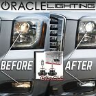 ORACLE 9012 H1R LED Headlight Bulbs (Pair) - 4,000 Lumen - White 6000k $139.87 USD on eBay