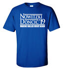 "Dirk Nowitzki Luka Doncic Dallas Mavericks ""19"" T-Shirt on eBay"