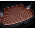 Handmade Leather Car Rear Trunk Mat Cargo Liner Tray for Lincoln MKZ 2015-2017
