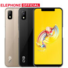 "5.85"" Elephone A4 4g Mobile Phone Android8.1 Fingerprint Smartphone Face Id 16gb"