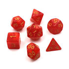 1Set/7Pcs Magic the Gathering Rpg Dice Game Dice Marble D4 D6 D8 D10 D10 D12 D20