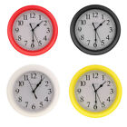 Wall Clock, Quartz Battery Operated 9inch Round Home/Office/School Clock - PICK