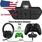 xbox 1 headset adapter - Audio Game Headset Headphone Stereo Adapter Microsoft Xbox One Controller DR USA