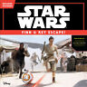 Star Wars The Force Awakens: Finn & Rey Escape! (Includes Stickers!) By Disne...