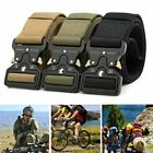DE Militär Taktisch Gürtel Military Outdoor Sports Tactical Nylon Waistband Belt