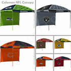 Coleman NFL Team 10' x 10' Dome Canopy Tent with Wall Tailgate ez up by Rawlings