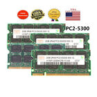 US Hynix 2GB 4GB 8GB PC2-5300 DDR2-667 667Mhz 200pin PC5300 Laptop Sodimm Memory