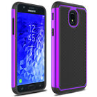 For Samsung Galaxy J7 V/J7 2018 Case Dual Layer Armor TPU Hard Phone Back Cover