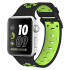 Silicone Sport Band Replacement Strap for Apple iWatch Series 4 3 2 1 38mm/42mm
