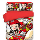 Betty Boop Kids Quilt Duvet Doona Cover Set Single Queen King Size Fitted Sheet $27.29 AUD on eBay