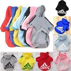 Внешний вид - Casual Winter Adidog Pets Dog Clothes Warm Hoodie Coat Jacket Clothing