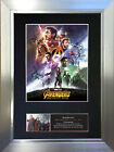 THE AVENGERS INFINITY WAR Signed Autograph Mounted Photo Repro A4 Print 738