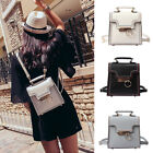 Convertible Faux Leather Small Mini Backpack Rucksack Shoulder bag Purse Satchel