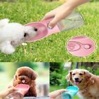 Puppy Dog Cat Pet Water Bottle Cup Filter Drinking Bowl For Outdoor Feeder 350ML