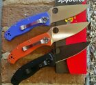 SPYDERCO TENACIOUS CHOICE OF 3 COLORS- BRAND NEW w/ BOX STOCK IN USA
