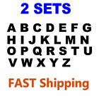 "2 Sets of Alphabet Letters A to Z 1"" Tall - Vinyl Stickers D"